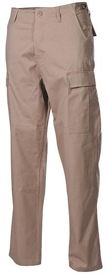 Панталон BDU Rip Stop khaki / MFH Int.Comp.