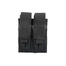 Двоен пауч за пълнители за пистолет - черен / 8 FIELDS