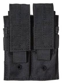 Двоен пауч за пълнители за пистолет - черен/ 8FIELDS