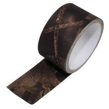 Текстилна залепваща лента hunter-brown 5м /  MFH Int.Comp.