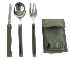 Сгъваем комплект за хранене 3 части