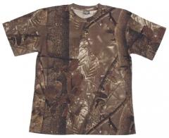 Тениска US Hunter brown / MFH Int.Comp.