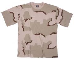 Тениска пустинна 3 цвята / MFH Int.Comp.