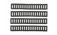 Комплект предпазни релсови панели - черни / A.C.M.