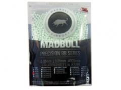 Топчета за еърсофт – 0,25г / 4000т.  Mad Bull