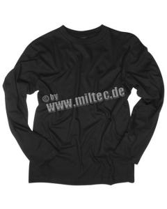 Блуза с дълъг ръкав черна / STURM Mil-tec